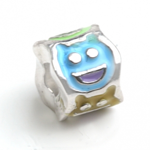 Original COOL B Charm SMILE in 925 er Sterling Silber
